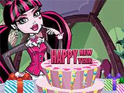Monster High New Year Cake Decor game