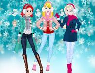 Princesses Winter Spree game