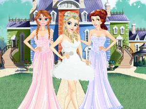 play Girls Ball Dress Up