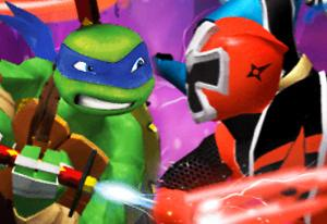 play Tmnt Vs Power Rangers 2: Ultimate Hero Clash 2