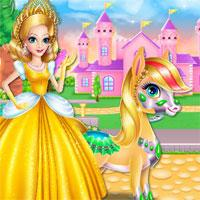 Princess Zaira And Pony