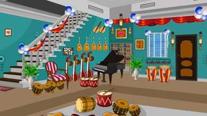 Escape From Musical Instruments Shop game
