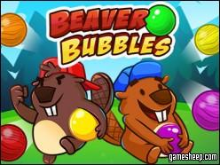 play Beaver Bubbles Game Online Free