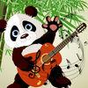 play A Panda Collect Musical Notes