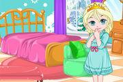play Baby Elsa Room Decoration Girl