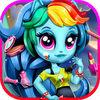 play Rainbow Fashion Girl:Dress Up & Makeup