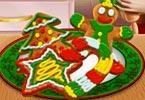 Princess Christmas Cookies game
