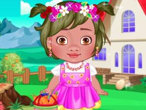 play Baby Moana School Style