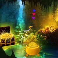 Pirates Treasure Cave Escape game