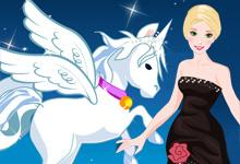Barbie With Pegasus game