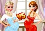 Pregnant Princesses Fashion Dressing Room game