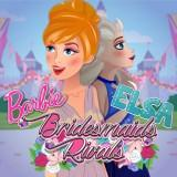 play Barbie And Elsa Bridesmaids Rivals