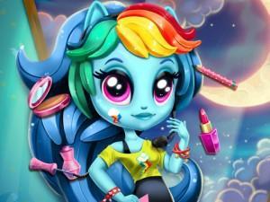 Rainbow Dash K-Pop Fashion game
