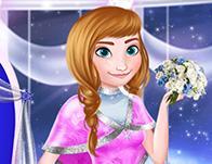 Disney Snowflakes Winter Ball game