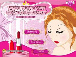 play Make Your Own Cosmetic Brand Spil