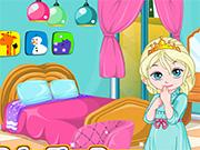 play Baby Elsa Room Decorating