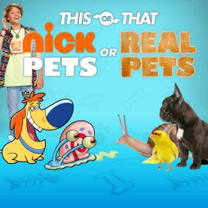 Nickelodeon: Nick Pets Or Real Pets Quiz game
