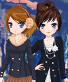 play Lady Writers Dress Up Game