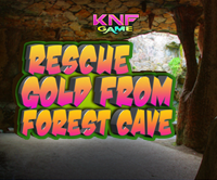play Rescue Gold From Forest Cave