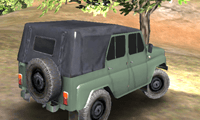 play Russian Uaz Offroad Driving 3D