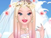 play Barbie Cherry Blossom Wedding