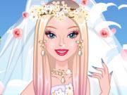 play Barbie Cherry Blossom Wedding