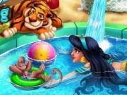 Arabian Princess Swimming Pool game