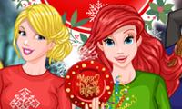 play Princess Christmas Rivals