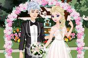 play Elsa Retro Wedding Girl