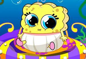 Spongebob Baby Caring game