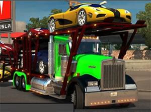 Car Transporter Truck Differences game