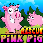 play Cute Pink Pig Rescue