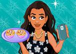 Moana Cooking Omelet Muffins Selfie game