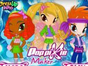 Pop Pixie Maker game