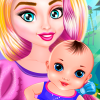 Betty Pretty Newborn Baby game