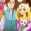 Rapunzel Gives Birth To A Newborn Baby game