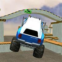 Monster Truck 3D Arena Stunts game