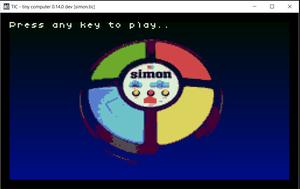 Tic Simon Say game
