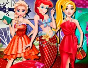 Princess At Christmas Ball game