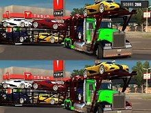 play Car Transporter Truck Differences