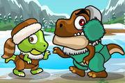 play Dino Meat Hunt: Ice Age