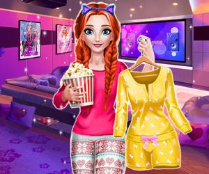 play Annie Movie Night