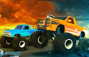 Monster Truck Drag Racers game