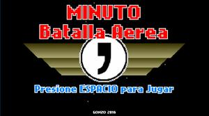 Minuto: Batalla Aerea game