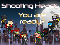 Shooting Heads game