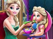 Ice Queen Toddler Feed game