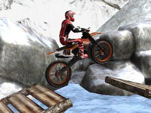 Moto Trials Winter game