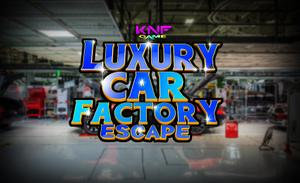 Luxury Car Factory Escape game