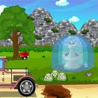 Green Forest Car Escape game