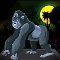 play Escape Game : Rescue Ape From The Hunter
